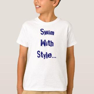 Freestyle Kids Swim Tshirt