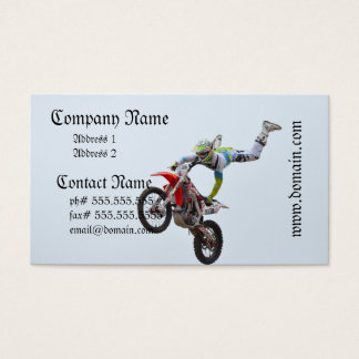 Freestyle Motocross Business Card