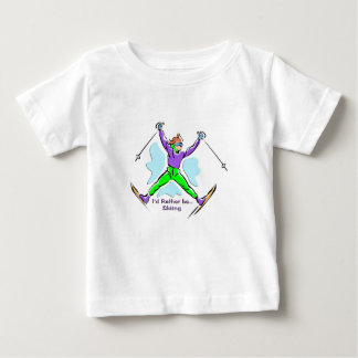 Freestyle Skier Baby T-Shirt