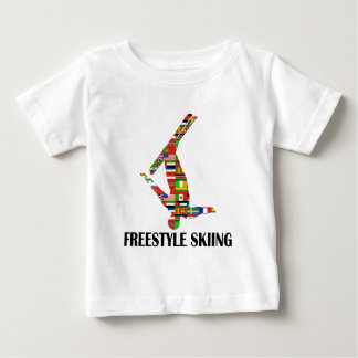Freestyle Skiing Baby T-Shirt