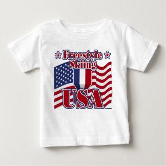 Freestyle Skiing USA Baby T-Shirt