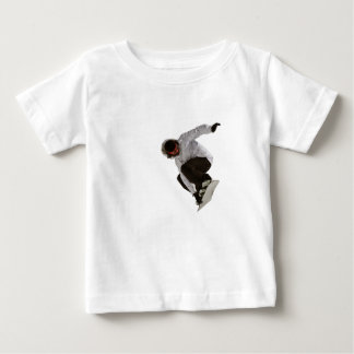 Freestyle snowboarder baby T-Shirt