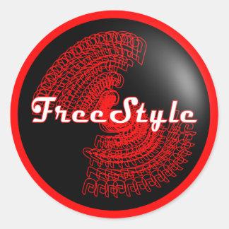 FreeStyle Sticker