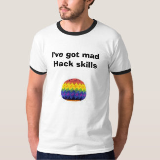 freestylesack, I've got mad Hack skills T-Shirt