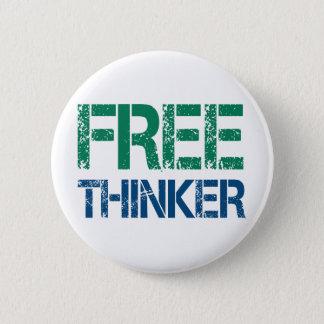 freethinker 2 inch round button