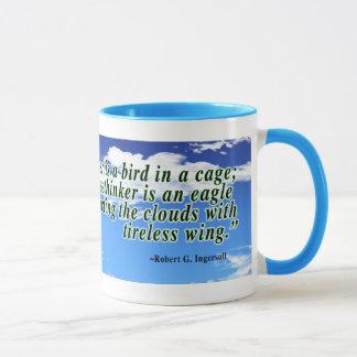 Freethinker quote mug