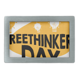 Freethinkers Day - Appreciation Day Belt Buckles