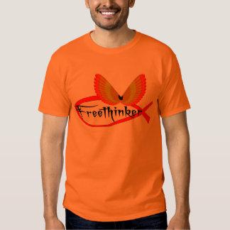 Freethinking Fish Symbol Tshirts