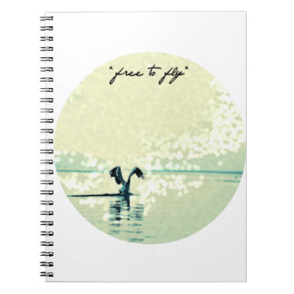 freetofly spiral note books