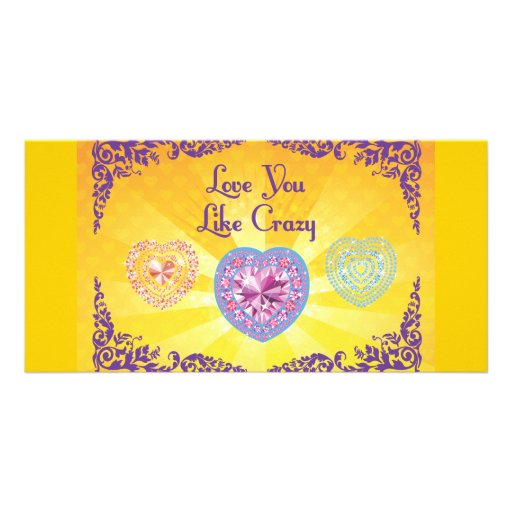 FreeVector.com-Hearts-Card.ai Personalized Photo Card