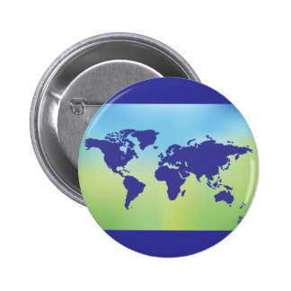 FreeVector-Earth-Vector.ai digital art maps causes 2 Inch Round Button