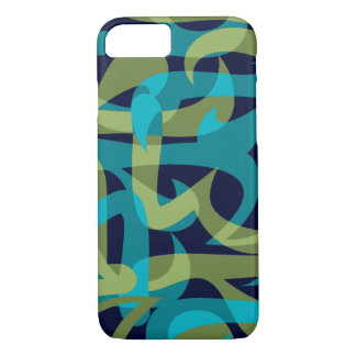 Freeway Abstract Retro Psychedelic iPhone 7 Case