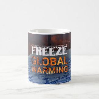 Freeze Global Warming Mug