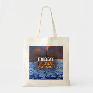 Freeze Global Warming Tote Bag