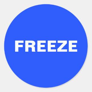 Freeze Sticker