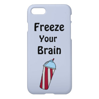 Freeze Your Brain Phone Case