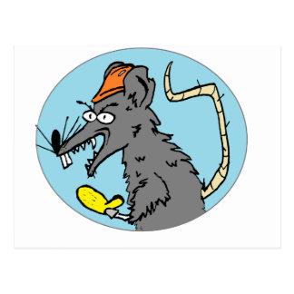 Freezer Rat Postcard