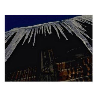 Freezer Roof Postcard