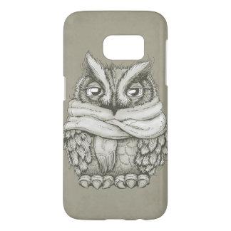 Freezin Owl Samsung Galaxy S7 Case