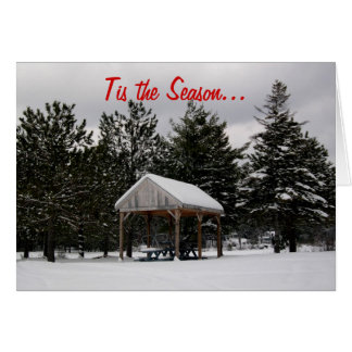 Freezin Season Christmas Card