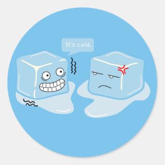 Freezing Ice Cube - Sticker