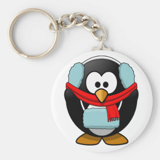 Freezing Penguin Keychain