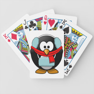Freezing Penguin Playing Cards