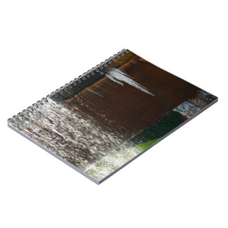Freezing Water Spiral Notebook