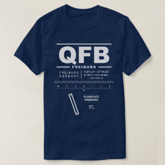 Freiburg Im Breisgau Airport QFB T-Shirt