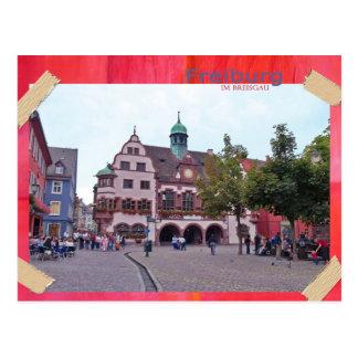 Freiburg in mash gau postcard