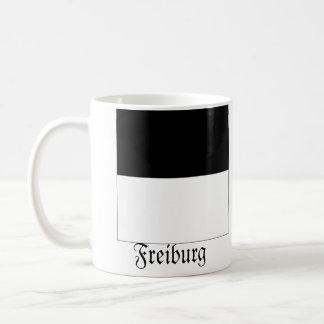 Freiburg, Schweiz Fahnen Flags Coffee Mug