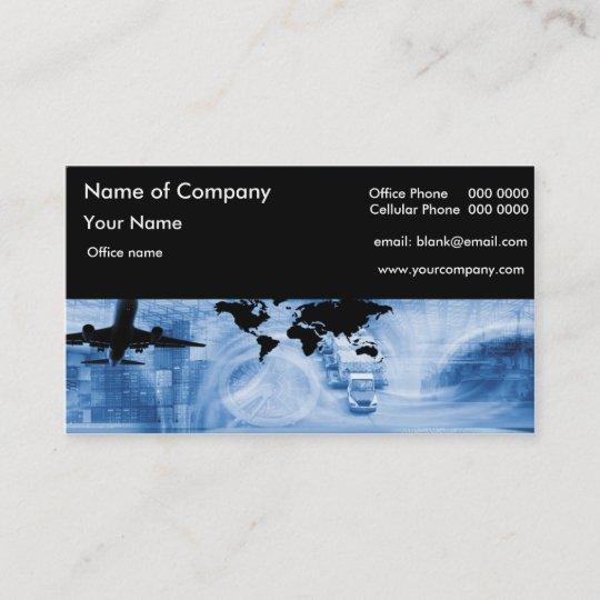 Freight Forwarding Business Card