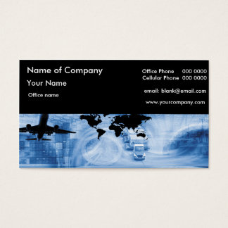 Freight Forwarding Business Card