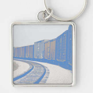 Freight Train Keychain