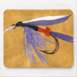 """Freight Train"" Trout Fly Mousepad"