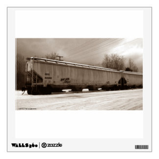 Freight Train Wall Decal
