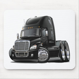 Freightliner Cascadia Black Truck Mouse Pad