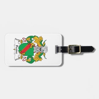 Freire Family Crest Luggage Tag