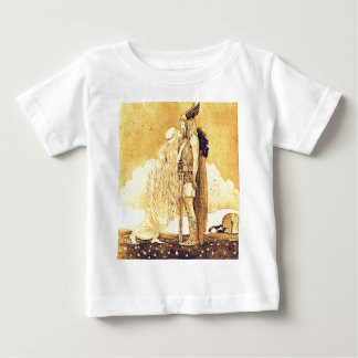Freja and Svipdag by John Bauer Baby T-Shirt