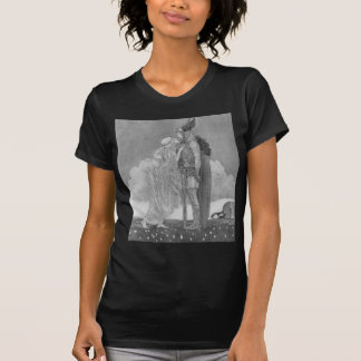 Freja and Svipdag by John Bauer T-Shirt
