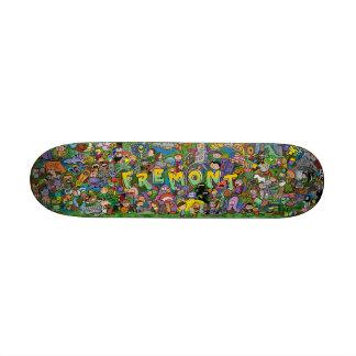 Fremont Doodle Skateboard