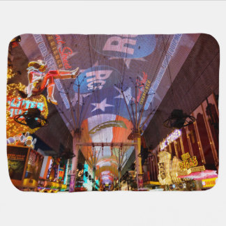 Fremont Street Experience Baby Blanket