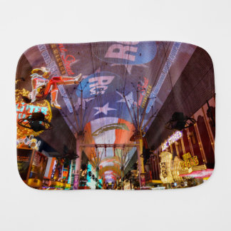Fremont Street Experience Burp Cloth