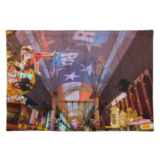 Fremont Street Experience Placemat