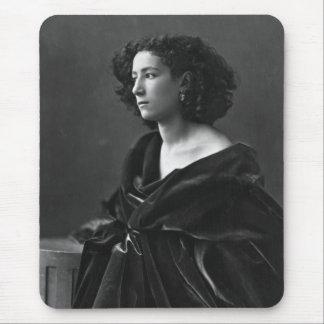 French Actress Sarah Bernhardt by Félix Nadar 1864 Mouse Pad
