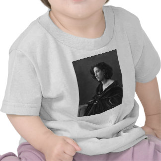 French Actress Sarah Bernhardt by Félix Nadar 1864 Tee Shirts