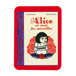 French Alice Book Cover Rectangular Photo Magnet
