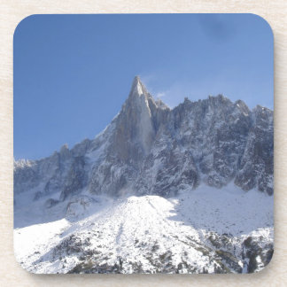 French Alps Beverage Coasters