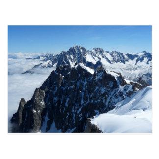 French Alps Chamonix Postcard