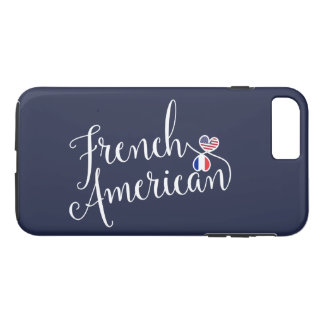 French American Entwined Hearts Cell Phone Case